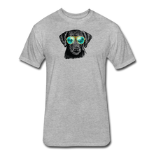 Load image into Gallery viewer, Fitted Cotton/Poly T-Shirt by Next Level - heather gray