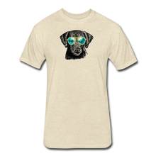 Load image into Gallery viewer, Fitted Cotton/Poly T-Shirt by Next Level - heather cream