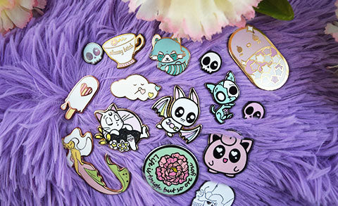 How To: Set up your Enamel Pins for Photography