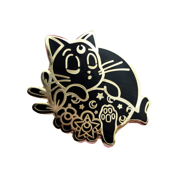 Sailor Meow Pins | Murdered Out