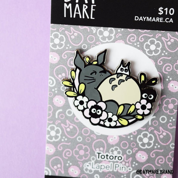 Totoro Enamel Pin - Daymareshop