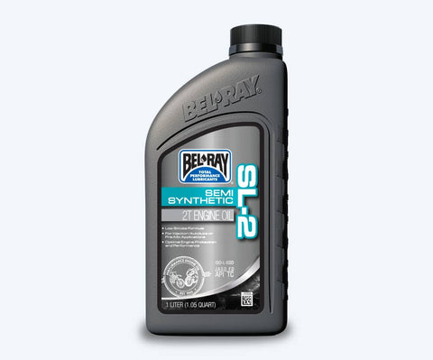 BEL-RAY SL2 SEMI-SYNTHETIC 2 STROKE OIL 1 LITER