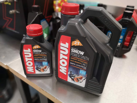 Motul Snow Power Synthetic  Oil 4L