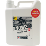 IPONE SNOW RACING Oil, 2T Stroke, 4 Liters + 1L