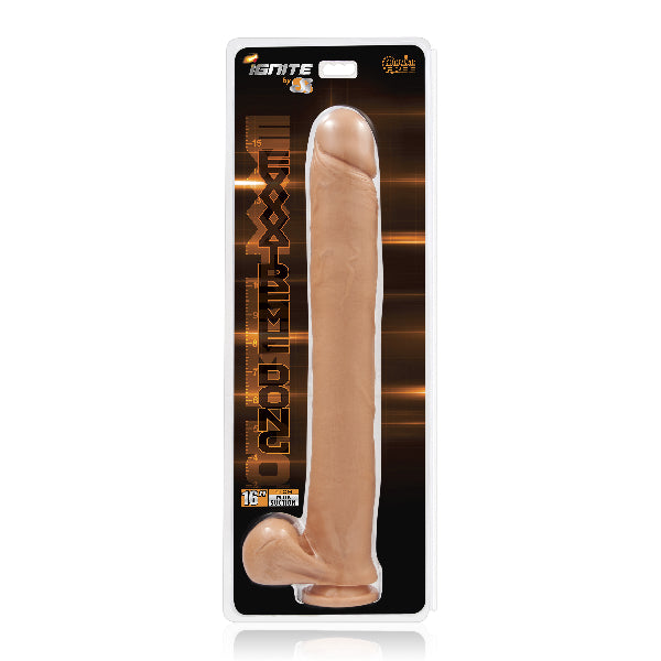 Exxtreme Dong w/ Suction Flesh 16in