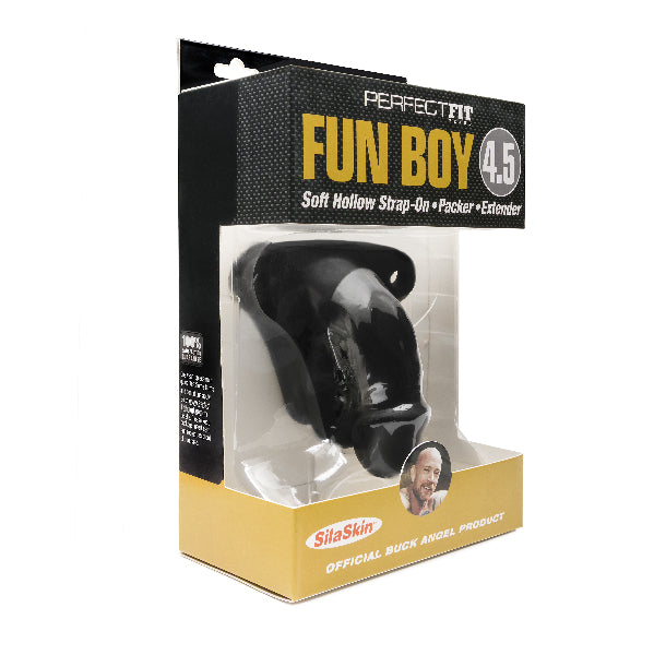 Buck Angel Fun Boy 4.5 Black