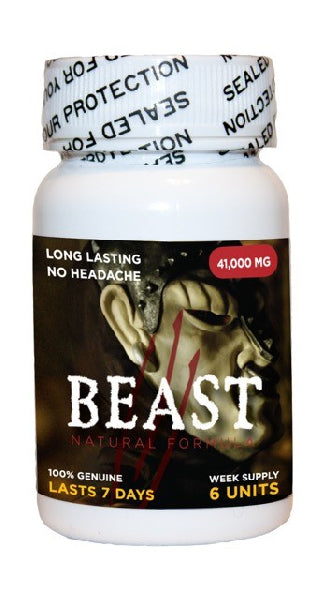 Beast 6 Pill Bottle