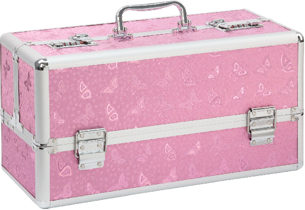 Lockable Large Vibrator Case Pink