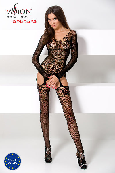 Bodystocking BS055 Black