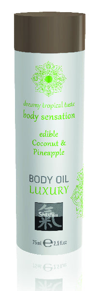 Shiatsu Luxury Body Oil Coconut & Pineapple
