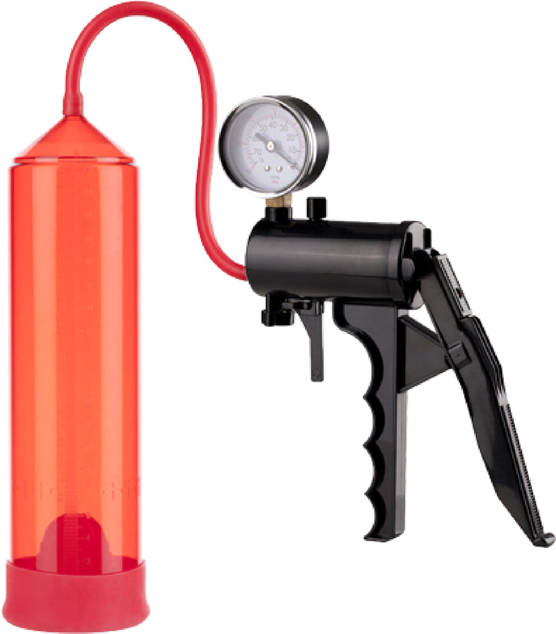 "Lust Pumper 8"" Pump W/ Gauge"