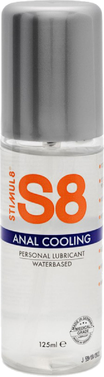 S8 Cooling WB Anal Lube 50ml