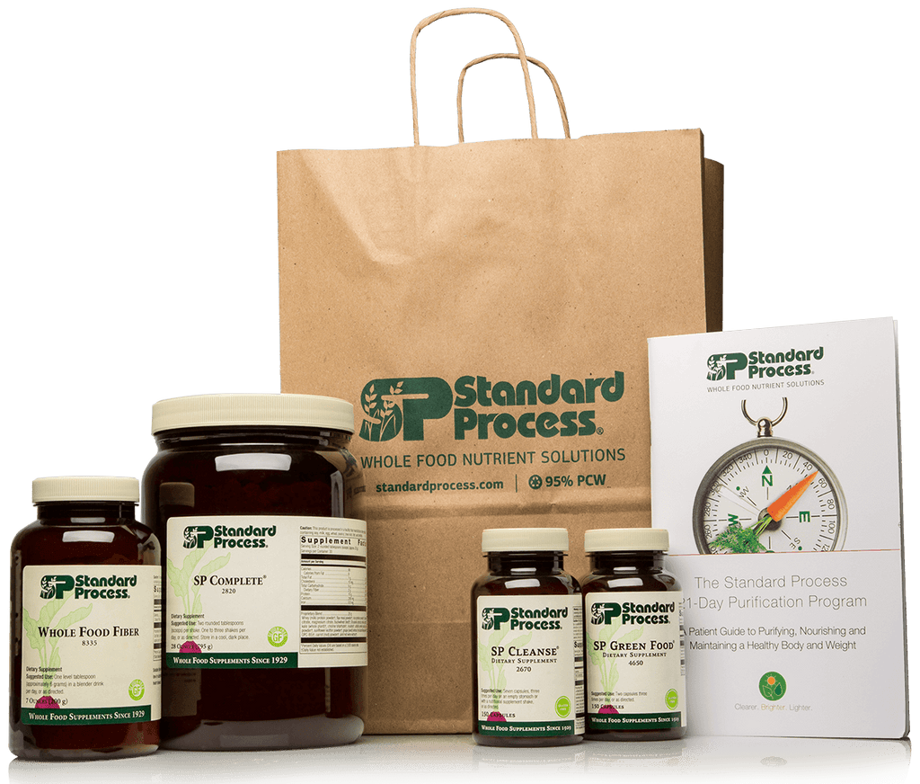 Purification Product Kit with SP Complete® and Whole Food Fiber