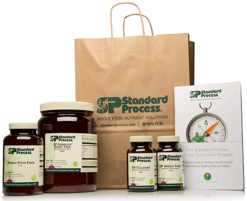 Purification Product Kit with SP Complete® Dairy Free and Whole Food Fiber