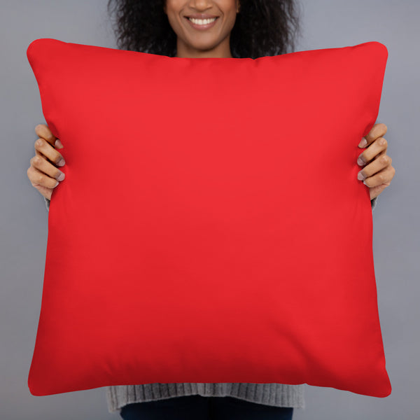 Basic Pillow all red
