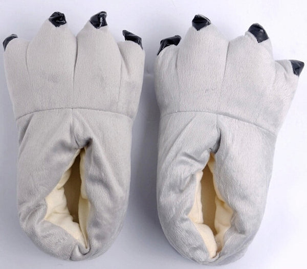 Adult Slippers unicorn & animal to match onsies sizes S,M,L