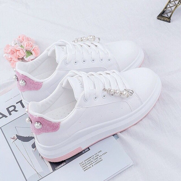 Women Shoes PU leather Women's Sneakers
