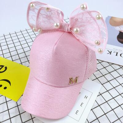 Cute children Mesh cap Spring Summer Children Baseball Cap Girls Snapback Hip Hop