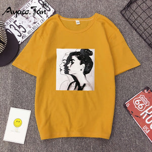 My sister circle T-shirts Woman Short Sleeve O-Neck