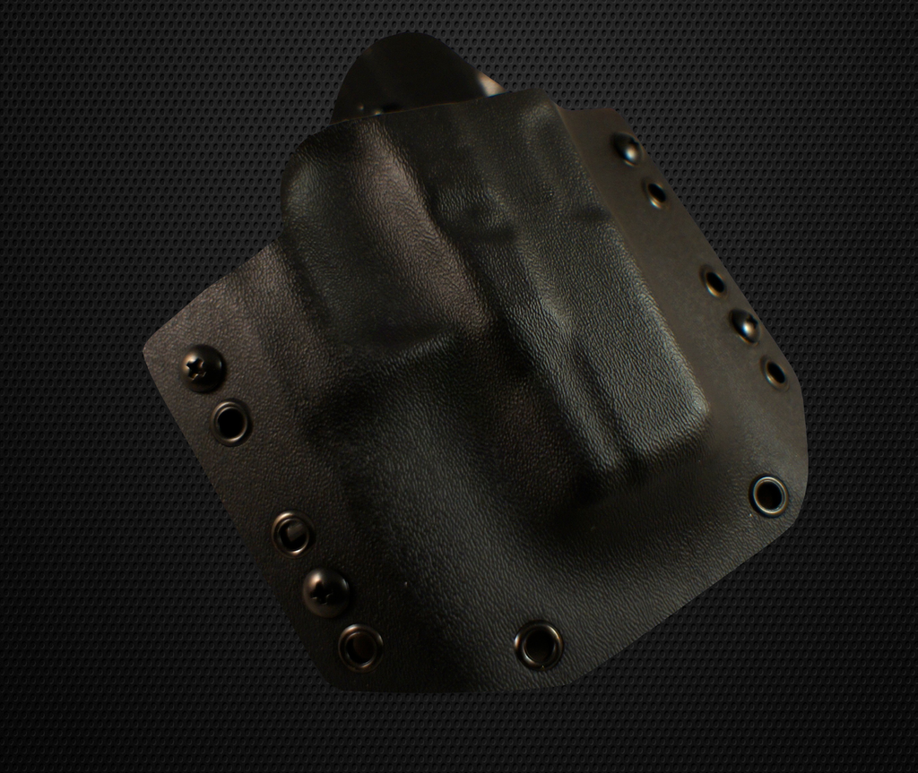 Custom Kydex - Outside the Waistband Holster (Black)