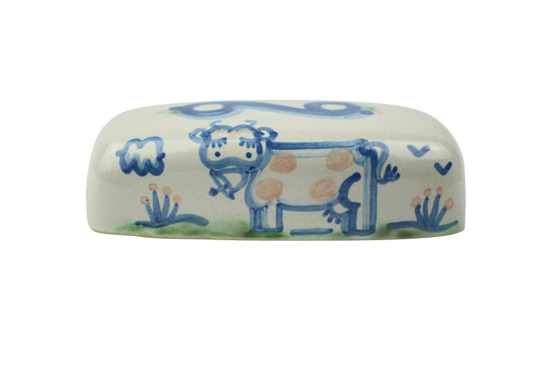 Butter Dish Lid - Cow