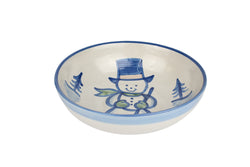 "11"" Regular Bowl - Snowman"