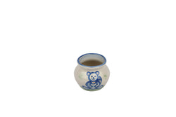 Miniature Sugar Bowl - Teddy Bear