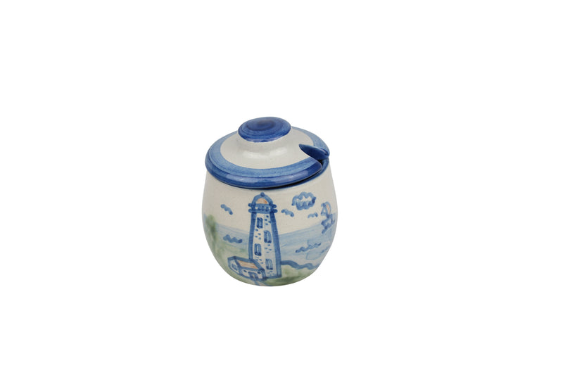 Medium Sugar Bowl - Lighthouse