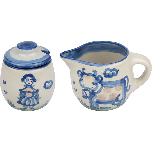 Cream & Sugar Set - Country