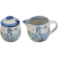 Cream & Sugar Set - Lighthouse