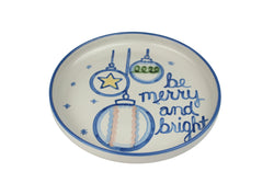 "12"" Rimmed Platter - Merry And Bright"