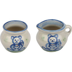 Children's Cream & Sugar Set - Teddy Bear