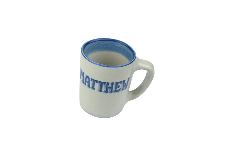 Personalized 8 Oz. Mug - Blue Horse