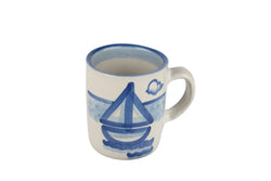 Personalized 8 Oz. Mug - Sailboat