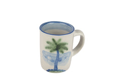 Personalized 8 Oz. Mug - Palm Tree
