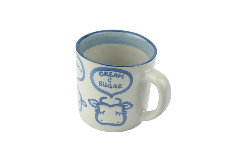 20 Oz. Giant Mug - Black/Creamer/Sugar