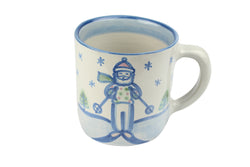20 Oz. Giant Mug - Skiing Santa