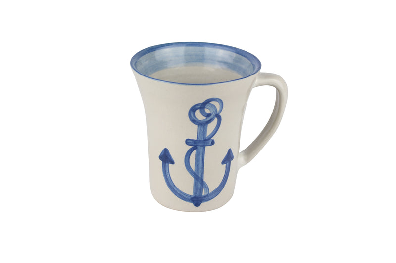 12 Oz. Flare Mug - Anchor