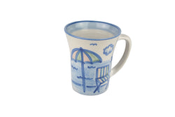 12 Oz. Flare Mug - Beach Umbrella