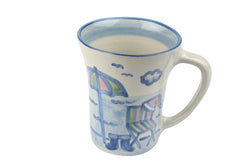12 Oz. Flare Mug - Christmas Beach