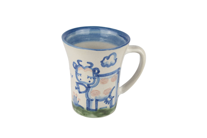 Personalized 12 Oz. Flare Mug - Cow