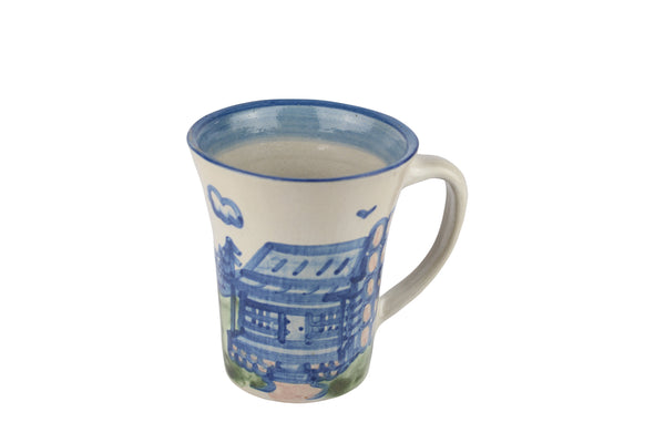 Personalized 12 Oz. Flare Mug - Log Cabin