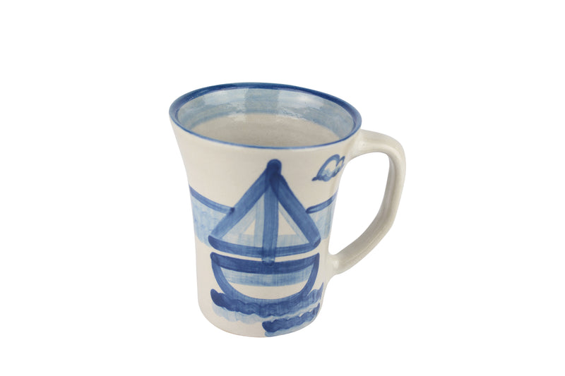 12 Oz. Flare Mug - Sailboat
