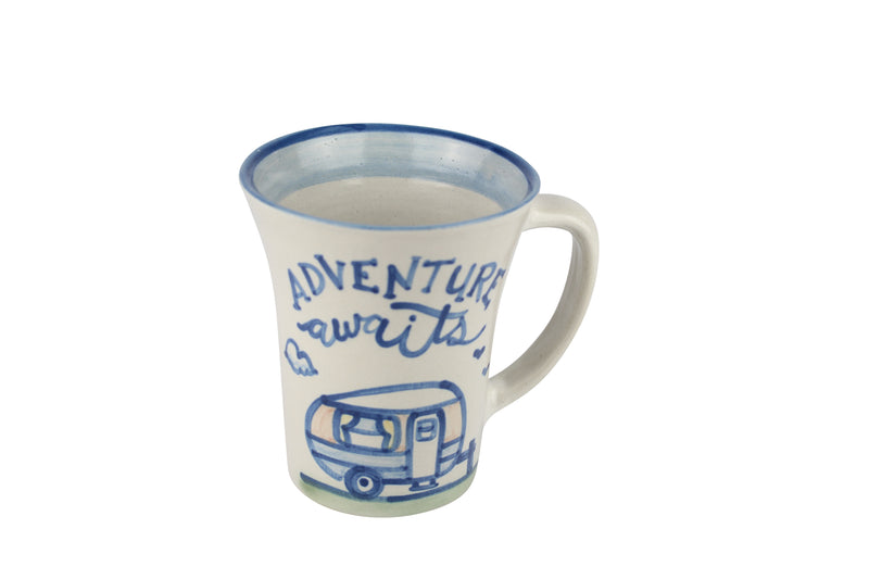 12 Oz. Flare Mug - Adventure Awaits