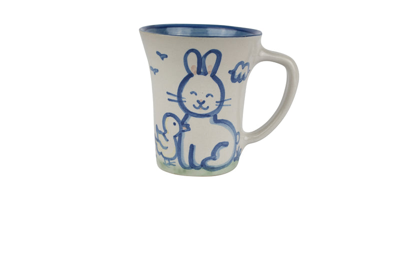 12 Oz. Flare Mug - Bunny And Chick Sweet