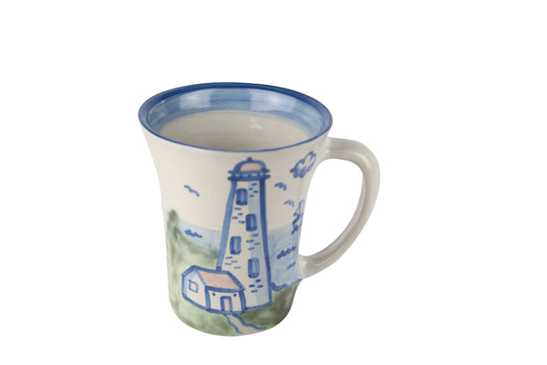 Personalized 12 Oz. Flare Mug - Lighthouse