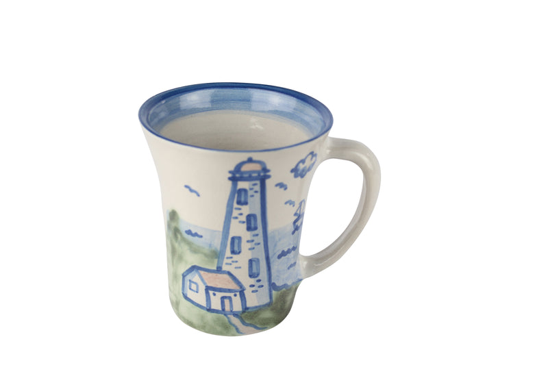 12 Oz. Flare Mug - Lighthouse