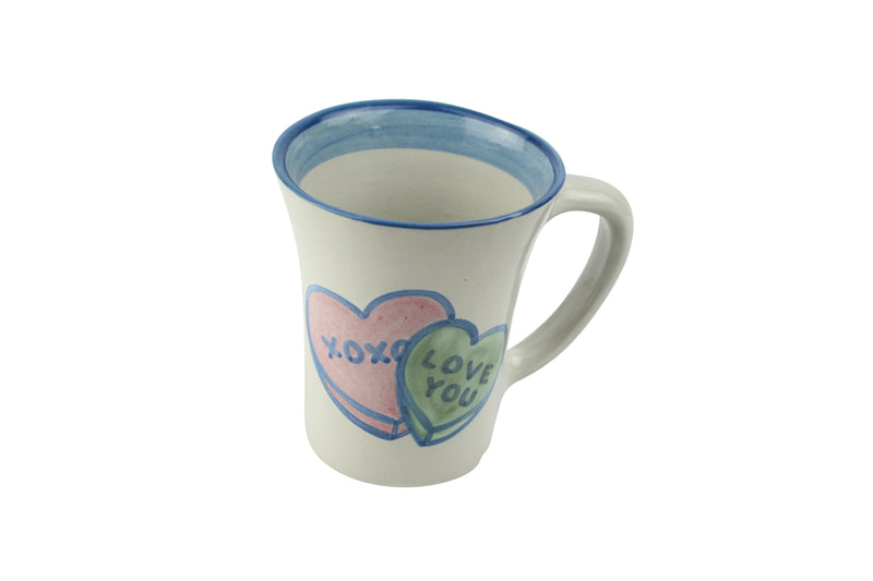 12 Oz. Flare Mug - Winter Cottage