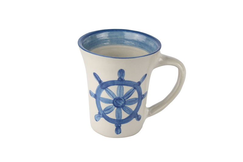 12 Oz. Flare Mug - Ship'S Wheel