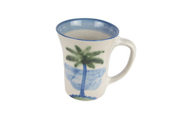 12 Oz. Flare Mug - Palm Tree
